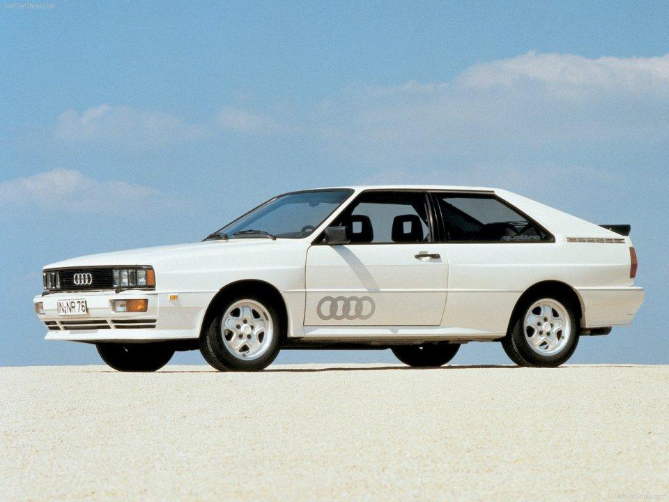 Audi Quattro 1980 | Mundus Senescit